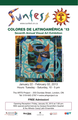 colores de latinomerica 2013