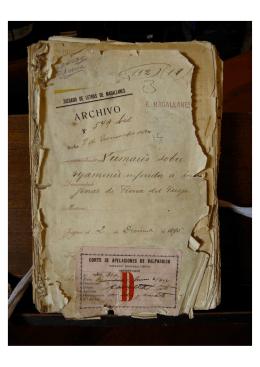 1895. Sumario sobre - Aike Biblioteca Digital de la Patagonia