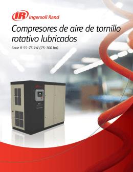 Compresores de aire de tornillo rotativo lubricados