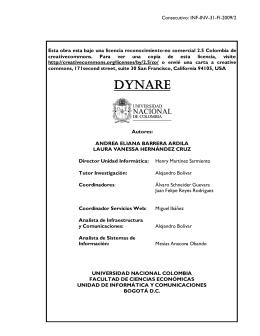 Dynare - Facultad de Ciencias Económicas