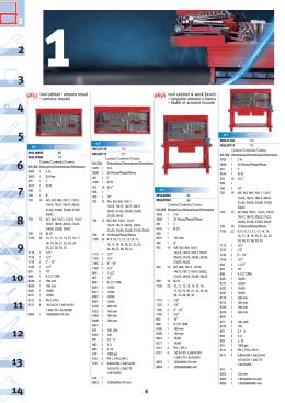 tool cabinet & work bench • conjunto armario y banco
