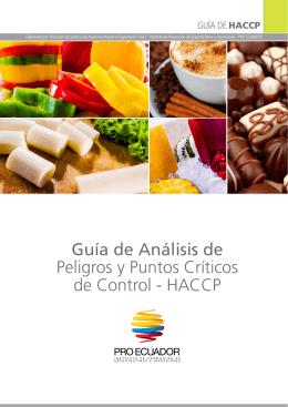 Guía de Análisis de Peligros y Puntos Críticos de Control