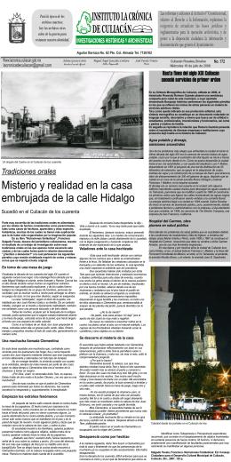 Misterio y realidad en la casa embrujada de la calle Hidalgo