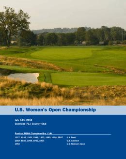 U.S. Women`s Open Championship