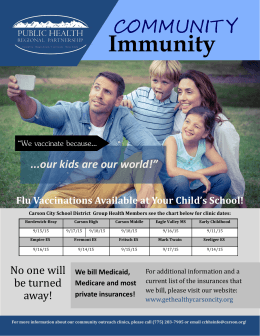 Immunity - Carson City School District