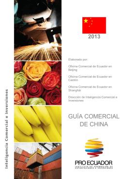 GUÍA COMERCIAL DE CHINA