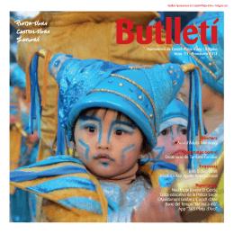 Butlletí Municipal Primavera 2014 - Notícies