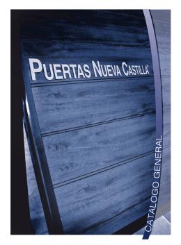 Catálogo General Puertas Nueva Castilla