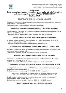 Grupo Ofertas 7 Enero