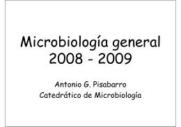 Microbiología general 2008