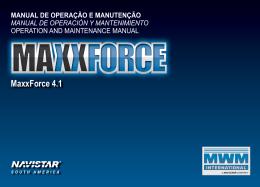 MaxxForce 4.1 - MWM Motores Diesel