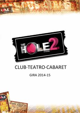 CLUB·TEATRO·CABARET