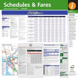 Schedules & Fares