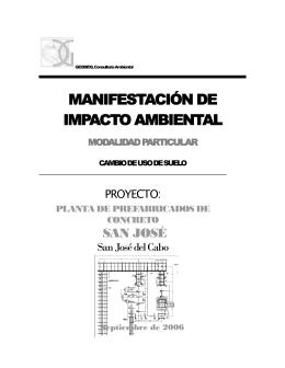 planta de prefabricacion de concreto san jose