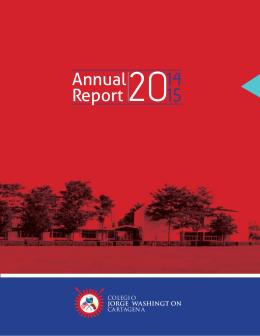 Annual Report 2014 - 2015 (Click para ver archivo PDF)