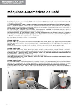 Máquinas Automáticas de Café