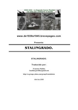 Stalingrado - Traducción al español (Versión en formato PDF, 27