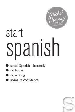 START SPANISH.indd