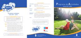 Programa de Actividades - Ayuntamiento de Majadahonda