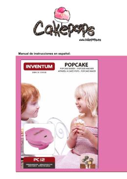Instrucciones Babycakes (Español).