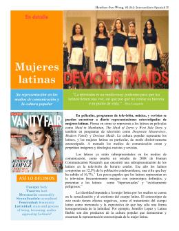 Mujeres latinas
