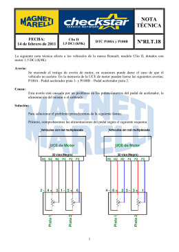 P100A - P100B - Magneti Marelli