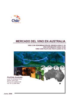MERCADO DEL VINO EN AUSTRALIA