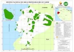 sistema nacional de áreas protegidas del ecuador