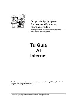 Tu Guía Al Internet - Family Voices of California