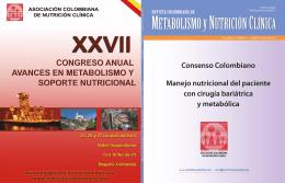 revista vol4 n1 - Asociación Colombiana de Nutrición Clínica