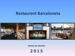 Restaurant Barceloneta