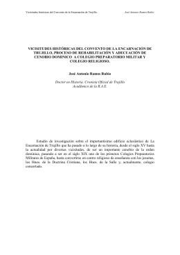 articulo sobre el convento de la encarnacion y colegio preparatorio