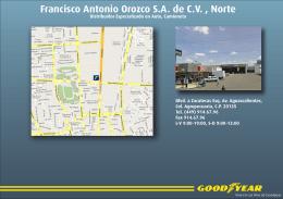 Francisco Antonio Orozco S.A. de C.V. , Norte