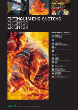 EXTINGUISHING SYSTEMS EXTINTOR EXTINTOR
