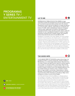 PROGRAMAS Y SERIES TV / ENTERTAINMENT TV