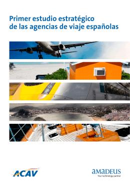 Primer estudio estratégico de las agencias de viaje