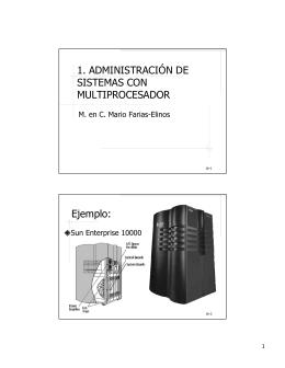 Administracion de sistemas multiprocesadores - Mario Farias