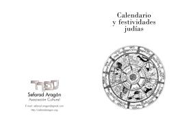 Calendario y festividades judías