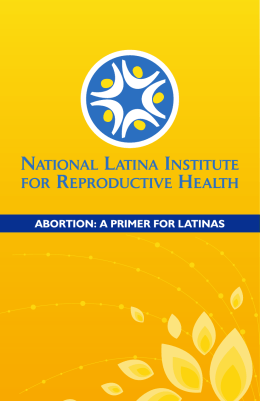 abortion - National Latina Institute for Reproductive Health