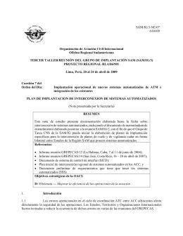 WP/07 - ICAO