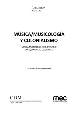 Versión blanco y negro - CDM | Centro Nacional de Documentación