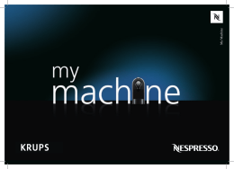 Ma Machine - Nespresso