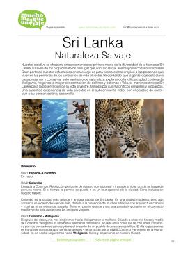 Sri Lanka - muchomasqueunviaje.com