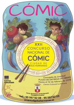 revista obras premiadas en el xxi concurso de comic ciudad de dos