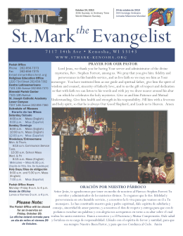 St. Mark Evangelist the
