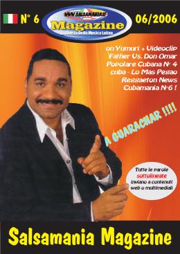Salsamania Magazine - Numero 6 - Giugno 2006