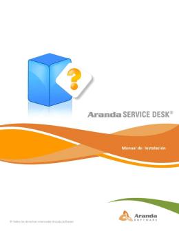 Licenciamiento de Aranda SERVICE DESK
