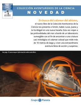 """Dossier """"Aventureros de la Ciencia"""""""