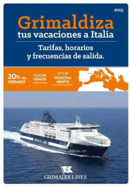 tus vacaciones a Italia