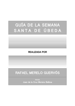 GUÍA DE LA SEMANA SANTA DE ÚBEDA 2012